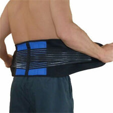 Back Support Workers Adjustable Lumbar Pain Relief Lower Belt Brace US Location