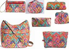 NWT VERA BRADLEY PAISLEY IN PARADISE  COLLECTION - YOU CHOOSE