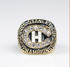 1986 MONTREAL CANADIENS STANLEY CUP CHAMPIONSHIP RING US SIZE 11