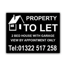 Property To Let Correx Sign Boards Estate Agent Bed House Signs X 2 (CORCP00047)