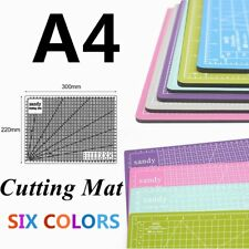 A4 Hobby&Craft Cutting Mat 300mm*220mm 1cm Square Grid Line For Fast Cutting OE
