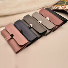 Womens Fashion PU Leather Clutch Wallet Long Card Holder Case Purse Bag Handbag