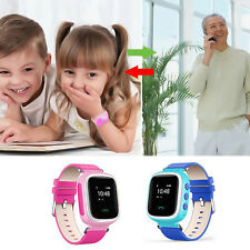 Anti-lost Children Kids Smart GPS Tracker Wrist Watch SOS Call For Android IOS