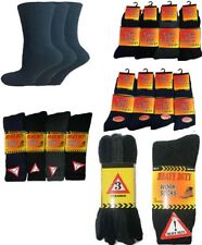 Ultimate 12 Pairs Mens Thermal Socks, Thick Warm Work Boot Socks Size 6-11