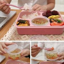 Microwave Bento Lunch Box + Spoon Utensils Picnic Food Container Storage Box XP