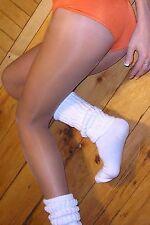2 Pair HOOTERS Costume PANTYHOSE & X-LONG SLOUCH SOCKS Pick Color Size A B C D Q