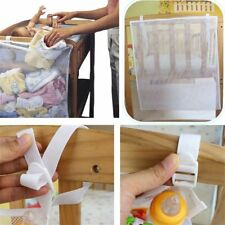 Baby Clothes Storage Bag Multi-Purpose Baby Diaper Nappy Crib Hanging Bag OE