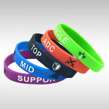 League of Legends (LoL) Wristband/Bracelet (top, jungle, mid, adc, support)
