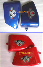 Red/Blue ABS Battery Side Covers For Honda Rebel CA250 CMX250 CMX250C 1986-2015