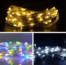 String Light Christmas Copper Wire Light for Wreath Garland Tree Patio Wedding