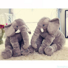 3 Sizes Plush Elephant Sleeping Cushion Toy for Children Pillow Elephant NEW