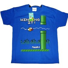 NEW FLAPPY BIRDS T-SHIRT Winging it! Official Top Quality Kids Boys Girls Gaming