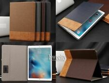 Folio Leather Card Pocket Wallet Magnetic Smart Stand Case Cover for Apple iPad