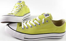 CONVERSE All Star Low Chuck Taylor Canvas shoes-NEW-CT Lime classic sneaker