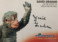 Gerry Anderson Collection Supercar David Graham Mitch The Monkey Autograph DG2