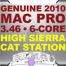 Apple Mac Pro 2010 3.46 GHz HEX 6 core • A1289 • HIGH SIERRA 10.13 • CAT STATION