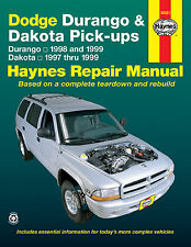 Haynes Publications 30021 Repair Manual Dodge Durango, Dakota