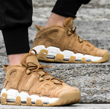 Nike Air More Uptempo Premium WHEAT FLAX PACK Men's Lifestyle Comfy Sneaker