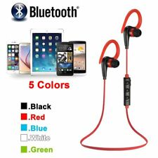 Wireless Sport Stereo Bluetooth Headset Earphone Headphone For iPhone Samsung LG