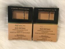Revlon Age Defying Makeup & Concealer Compact NATURAL TAN or EARLY TAN BRAND NEW