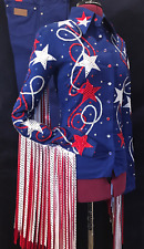 Rodeo Queen, Parade, Patriotic, Show Adult Blouse by Riding High USA