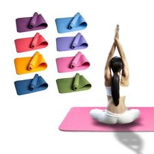6mm Thick TPE Non-slip Yoga Mats For Fitness Pilates Training Gym Exercise EL