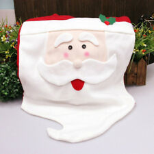 Mr Santa Claus Christams Kitchen Chair Cover Hat For Christmas Home Decoration