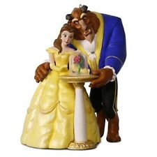 Disney Beauty and the Beast Christmas Tree Decoration Ornament Lights Music
