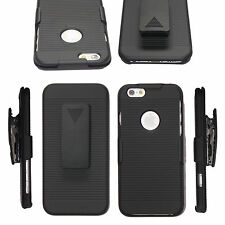 For iPhone 7 plus 5S 6S Holster Case Cover with Belt Clip +Stand phone Accessory