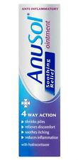 Anusol Soothing Relief Ointment 4 Way Action Hydrocortisone Haemorrhoids (Piles)