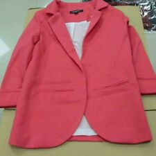 Women Candy Color Three Quarter Sleeve Polyester Material Autumn Wear Blazer