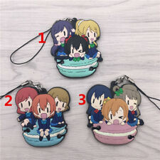 T531 Hot Anime Lovelive Love Live! rubber Keychain Key Ring Rare Straps Cosplay