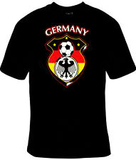 Germany Euro 2016 Germany Soccer Football T-Shirt Black S-5XL Adult & Youth NEW