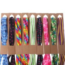 Unisex Colorful Shoelace Casual Sneaker Boot Flat Shoelaces Shoe Strings