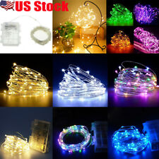 5M/10M 50/100LED Waterproof Battery Christmas LED Copper Wire Fairy String Light