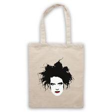 ROBERT SMITH THE CURE UNOFFICIAL POST PUNK NEW WAVE TOTE BAG LIFE SHOPPER