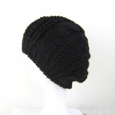 New Womens Fashion Knit Slouchy Beanie CC Oversized Thick Cap Unisex Slouch Hat