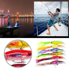6 Colors 14cm/50g High Quality Sleeve-Fish Fishing Lures Squid Crank Bait Tackle