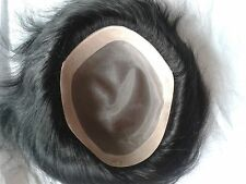 Mens Toupee Hairpiece System Replacement for Men Indian Remy Hair Piece Wig