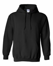 Gildan 18500 Heavy Blend Hooded Sweatshirt Brand New Black