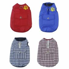 Thickened Dog Jacket Comfortable Cotton Dog Coat Autumn Winter Puppy Clothes OE