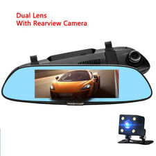 Perfect Dual Lens Car DVR Recorder Camera For Your Car 1080P HD Rearview Mirror
