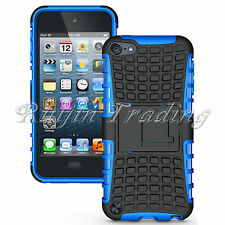 Hybrid Heavy Duty Hard Rugged Case Stand Cover For Apple iPod Touch 5 5th Gen