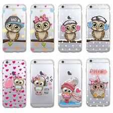 Super Cute Baby Owl Soft TPU Phone Case For iPhone