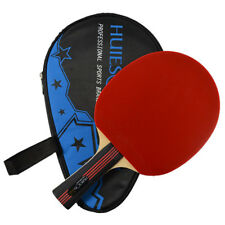 Professional Three-star Table Tennis Racket PING PONG Bat Long Handle With Bag
