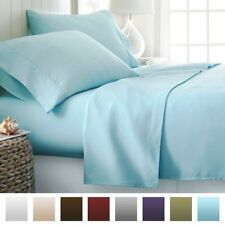 Light Blue Solid Super Soft US Bedding Item-100% Egyptian Cotton 1000 TC India