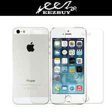 2X (2 Front + 2 Back) PET FULL BODY Screen Protector For Apple iPhone 5 6 6 Plus