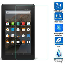 "Tablet Tempered Glass Screen Protector Fit Amazon Kindle Fire HD 7""/8 6th Gen"