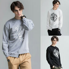 Men's Long Sleeve Irregular Tops Blouse Casual Hoodies Sweater Pullover Coat Tee