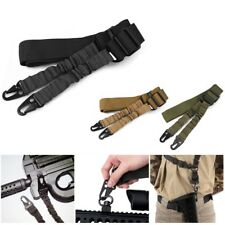 Tactical 2 Point Bungee Quick Release Sling Adjustable Gun Strap Rifle Hunting